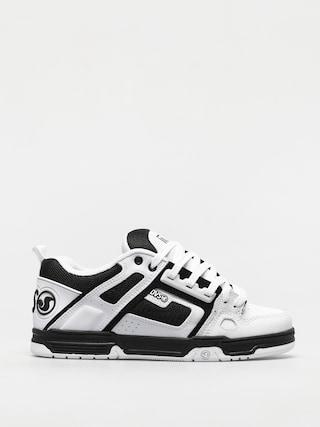 Pantofi DVS Comanche (white black white leather)