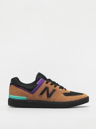 New Balance Pantofi All Coasts 574 (brown/black)
