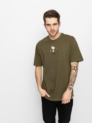 Element Tricou Peanuts (army)