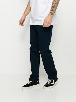 RVCA Pantaloni The Weekend Stretch (navy marine)
