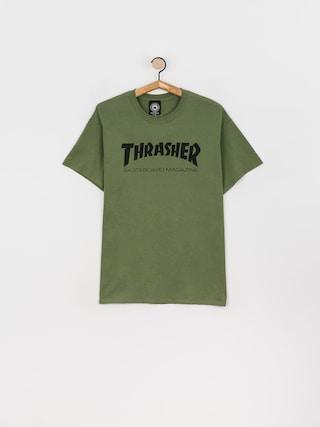 Tricou Thrasher Skate Mag (army)