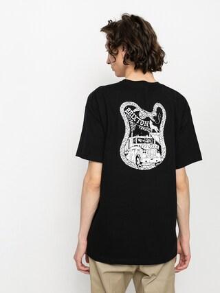 Tricou Brixton Fender Highway (black)