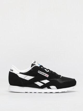 Pantofi Reebok Cl Nylon Wmn (black/black/white)