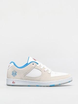 Pantofi eS Accel Slim (white/blue/red)