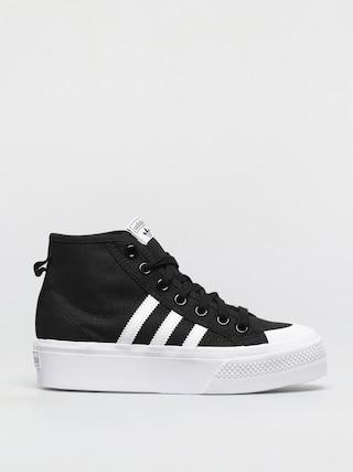Pantofi adidas Originals Nizza Platform Mid Wmn (cblack/ftwwht/ftwwht)
