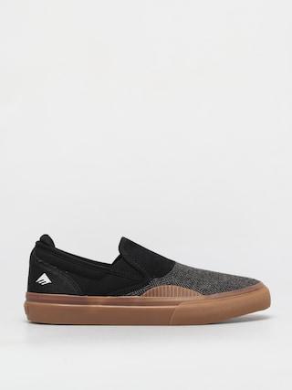 Pantofi Emerica Wino G6 Slip On (black/gum/white)