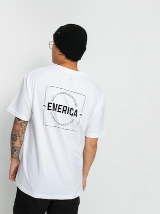 Emerica Tricou Statement (white)