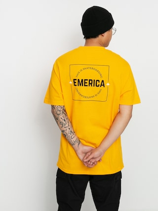 Emerica Tricou Statement (gold)