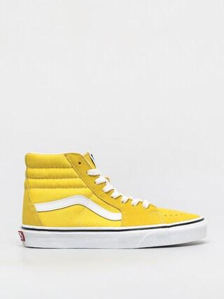 Pantofi Vans Sk8 Hi (cyber yellow/true white)