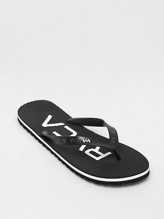 papuci de plaju0103 RVCA Trenchtown Sandals I (black)