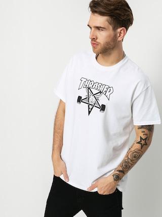 Tricou Thrasher Skate Goat (white)