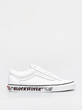 Pantofi Vans Style 36 (se bikes blocks flyer/white/reflective)