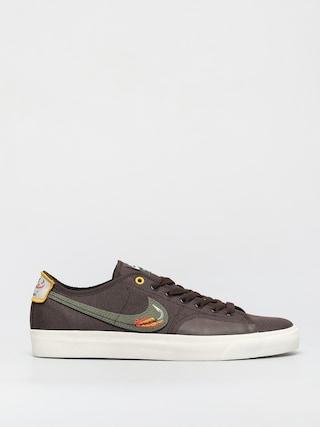 Pantofi Nike SB X Daan Van Der Linden Blazer Court (baroque brown/medium olive light bone)