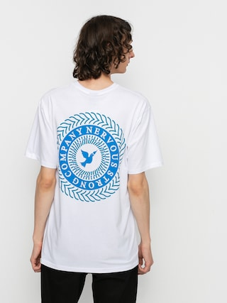 Tricou Nervous Swirl (white)