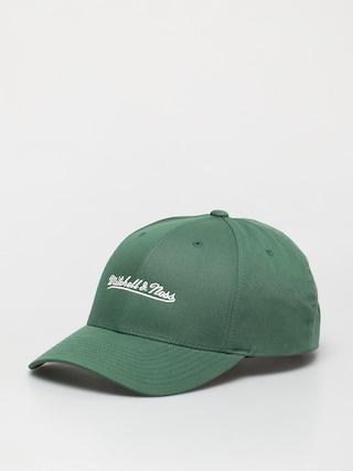 u0218apcu0103 Mitchell & Ness Script Low Pro ZD (branded/dark green)
