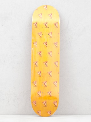 Placu0103 Pizza Skateboards Emoji Pattern (orange)