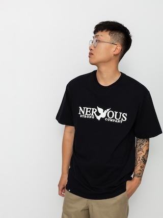 Tricou Nervous Classic (black)