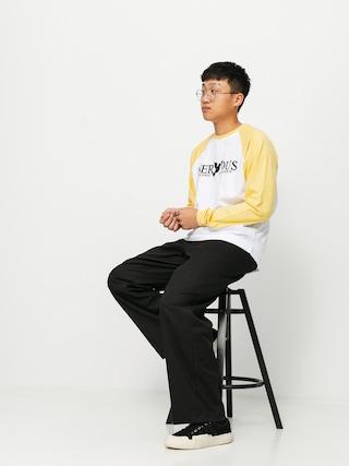 Tricou Nervous Classic (yellow/white)