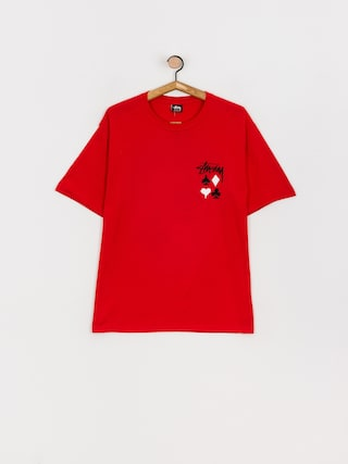 Tricou Stussy Full Deck 2 (red)
