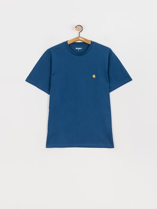 Tricou Carhartt WIP Chase (skydive/gold)