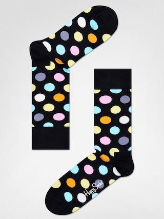 u0218osete Happy Socks Big Dot (black/multi)