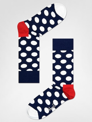 u0218osete Happy Socks Big Dot (navy/red/white)
