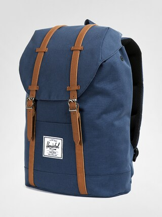 Rucsac Herschel Supply Co. Retreat (navy/tan synthetic leather)
