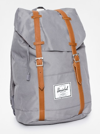 Rucsac Herschel Supply Co. Retreat (grey/tan synthetic leather)