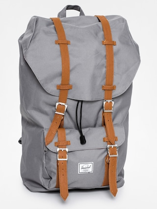 Rucsac Herschel Supply Co. Little America (grey/tan synthetic leather)