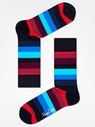 u0218osete Happy Socks Stripe (black/red/blue)