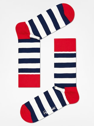 u0218osete Happy Socks Stripe (red/navy/crem)