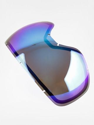 Sticle pentru ochelari Dragon D3 RPL (dark smoke blue)