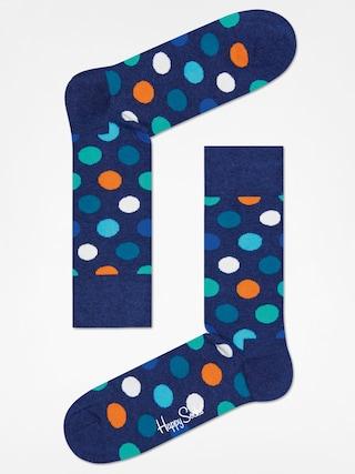 u0218osete Happy Socks Big Dot (washed navy/navy)