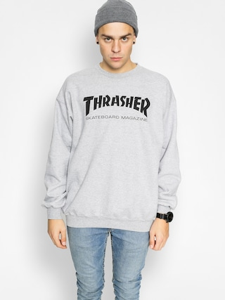 Hanorac Thrasher Skate Mag Crew (grey)