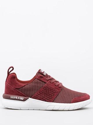Pantofi Supra Scissor Wmn (burgundy/white)