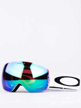 Ochelari pentru snowboard Oakley Flight Deck (matte white/prizm jade iridium)