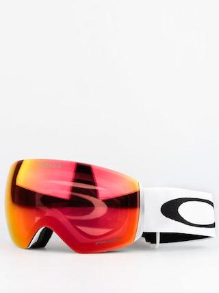 Ochelari pentru snowboard Oakley Flight Deck (matte white/prizm torch iridium)