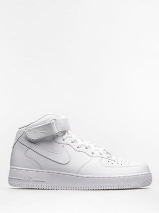 Nike Pantofi Air Force 1 Mid 07 (white/white)