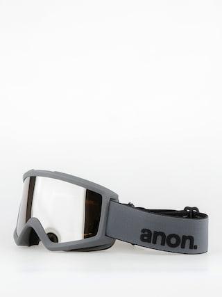 Ochelari pentru snowboard Anon Helix 2.0 W Spare (stealth/silver amber)