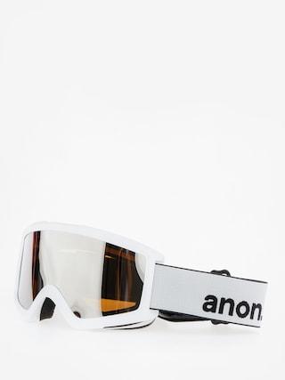 Ochelari pentru snowboard Anon Helix 2.0 W Spare (white/silver amber)