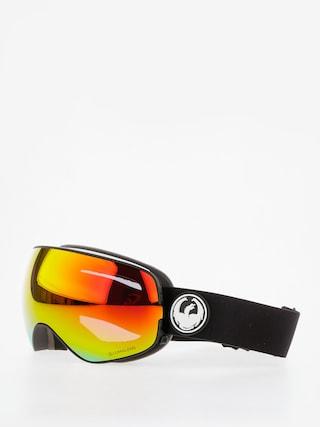 Ochelari pentru snowboard Dragon X2s (black/lumalens red ion/l rose)