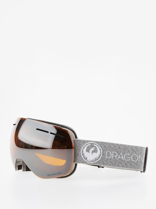 Ochelari pentru snowboard Dragon X1s (mill/lumalens silver ion/dark smoke)