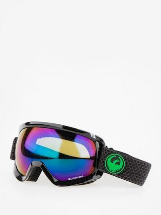 Ochelari pentru snowboard Dragon D3 (split/lumalens green ion/l amber)