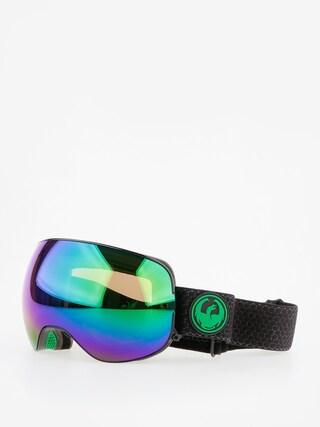Ochelari pentru snowboard Dragon X2 (split/lumalens green ion/l amber)