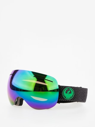 Ochelari pentru snowboard Dragon X1 (split/lumalens green ion/lumalens amber)