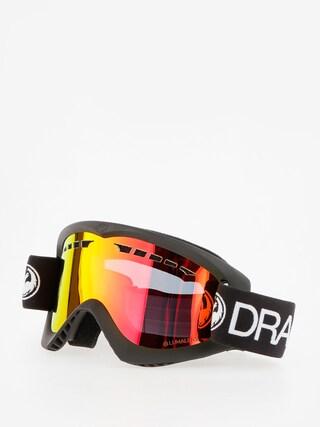 Ochelari pentru snowboard Dragon DX (black/lumalens red ion)