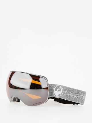 Ochelari pentru snowboard Dragon X2 (mill/lumalens silver ion/dark smoke)