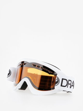 Ochelari pentru snowboard Dragon DX (white/lumalens amber)