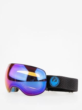 Ochelari pentru snowboard Dragon X2 (split/lumalens blue ion/l amber)