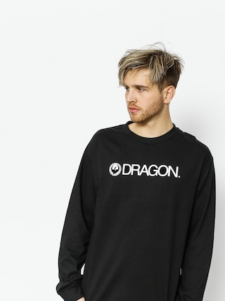 Tricou Dragon Trademark Staple Line (black)